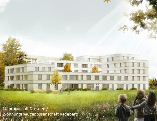 Jung und Alt unter einem Dach: Radeberger Wohnungsgenossenschaft baut Mehrgenerationenhaus