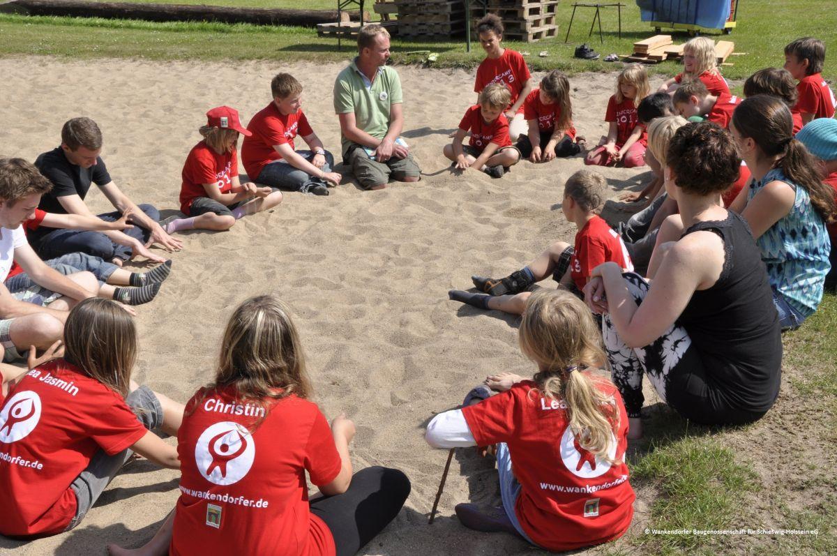 Das Kinderferiencamp der Wankendorfer macht Kinder, Eltern und die Genossenschaft glücklich (Teil 1)