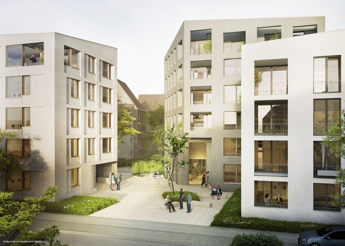 Neubau Wohnungsbaugenossenschaften